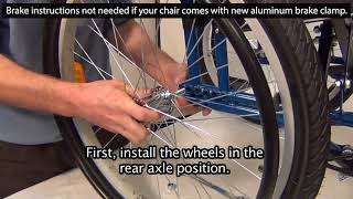RoughRider Wheelchair Assembly 2018