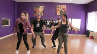 Abby Quince Surprise Dance Practice