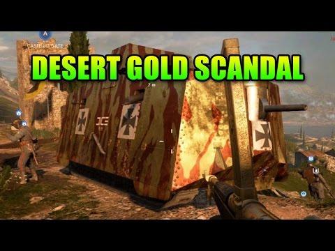 Desert Gold Battlepack Deception! | Battlefield