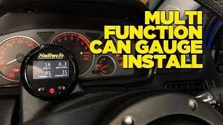 Multi-function OLED Gauge Install on the Evo