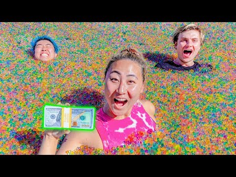 LAST TO LEAVE THE ORBEEZ POOL WINS 10 000