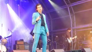 LAST SHADOW PUPPETS AND JOHNNY MARR  MANCHESTER 10/07/16 LAST NIGHT I DREAMT THE SMITHS COVER  T