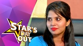 Actress Devika in Stars Day Out (23/05/2015)
