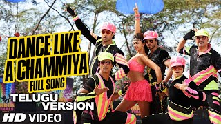 Dance Like a Chammiya Video Song (Telugu Version) | Happy New Year | Shah Rukh Khan