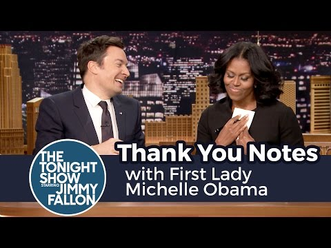 watch Thank You Notes with First Lady Michelle Obama