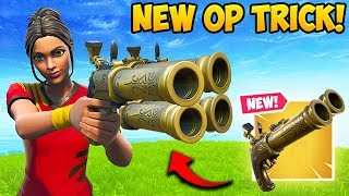 THIS FLINT KNOCK TRICK IS *SUPER OP* - Fortnite Funny Fails and WTF Moments! #588