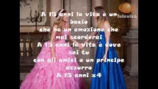A mis quince-eme 15- TRADUZIONE ITALIANA