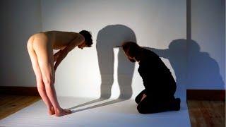 Comment prendre l'ombre d'un modèle nu ? (travail d'atelier / art in progress)