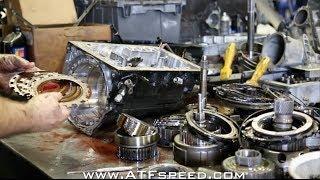 Toyota Supra built transmission failure in depth tear down - ATFspeed.com -