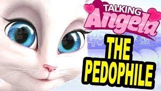 PEDOPHILE CAT GAME!! (Talking Angela)