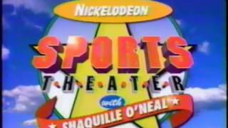 Snick - Nickelodeon Commercial  - All That  - Alex Mack  - Sports Theater (1996)