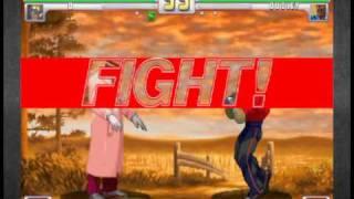 Robo-Pimp defeats a gentleman.