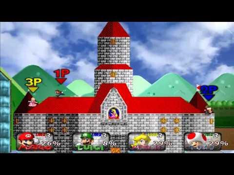 Super Smash Bros Crusade v0.7 Mario Bros Battle HQ