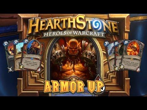 Hearthstone Deck Spotlight: Armor Up!
