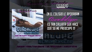Jowell & Randy - Guadalupe [Remix] Ft Alexio, Mr. Williamz, Guelo Star, J King & Maximan LETRA HD