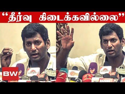 Xxx Mp4 Tamil Cinema Strike Will Continue Vishal S Strong Statement TN 786 3gp Sex