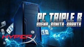 PC Triple B by HyperX I Armado, Review, Benchmarks, Prueba ARK y H1Z1 I #ILOVEHYPERX