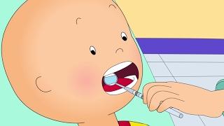 Caillou en Français- Caillou chez le dentiste | dessin animé complet en francais