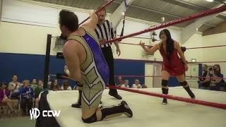 Intergender Wrestling // Kazza G V Karl Brien // Mixed