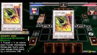 Yugioh 5Ds Tag Force 5 Vizor vs.Yusei