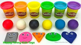 Learn Colors and Learn Shapes with Play Doh Balls, Kinder Surprise Eggs Disney Princess Mickey Mouse