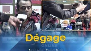 شاهد..ممثل الكاف  يطرد صحفيا جزائريا من ندوة الأهلي المصري