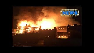 News Major fire ravages celebrated Glasgow School of Art for second time