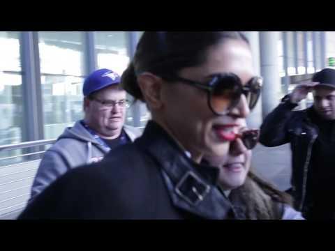 Deepika Padukone Arrives in Toronto For xXx - The Return of Xander Cage Shoot