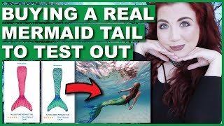 Buying A REAL Mermaid Tail To Test In Water