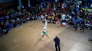 That's a lot of Airtracks? Longest B-boy move IBE