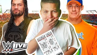 SURPRISING JAYDEN WITH WWE TICKETS!! *HE CRIED* (EMOTIONAL!)