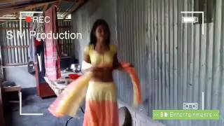 Hot Bangladeshi nude village girl had dance with yellow bra with Bengali hot song !!!!!