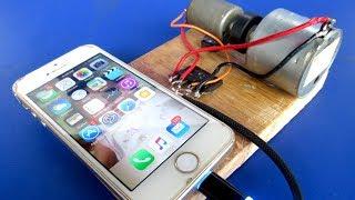 Free energy Mobile Charging generator Using DC motor Self Running Machine