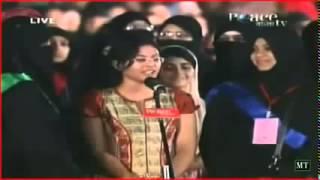 Accepting islam hindu Girl With Zakir Naik 2014