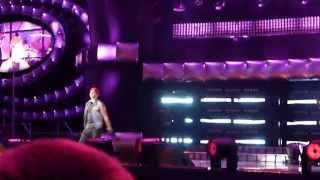 Eric Saade - Hotter than fire (Sopot, 24.08.2012)