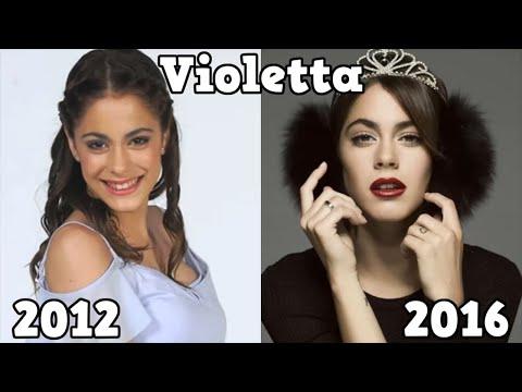 Violetta Antes y Después 2016