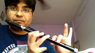 Learning Flute Lesson 3 - Zara zara mehekta hai (RHTDM)