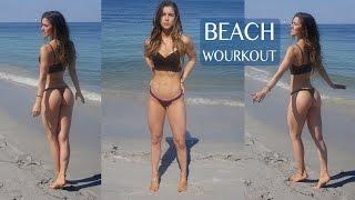 ANLLELA SAGRA | Beach workout