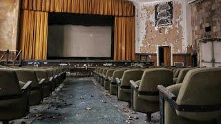 Abandoned Vintage 1970's Movie Theater with Bonus Footage
