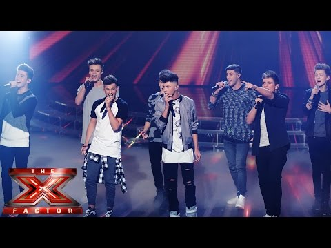 Stereo Kicks sing  The Beatles' Let It BeHey Jude (Medley) | Live Week 3 | The X Factor UK 2014