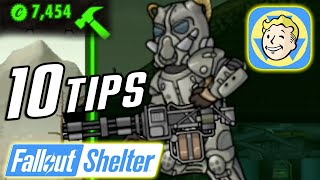 Fallout Shelter   10 Tips, Tricks & Secrets to get more Caps, Dwellers & Rank Up Fast!