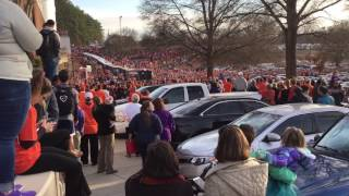 Clemson welcome home rally