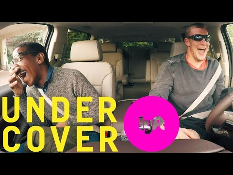 Undercover Lyft with Rob Gronkowski