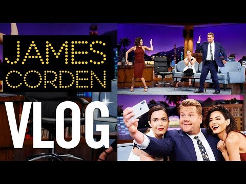 Download Lagu LATE LATE SHOW VLOG | With James Corden | Jenna Dewan MP3