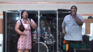 TSNBChurch: Potter and Friend (D'marcus Howard and Jasmine Brown)