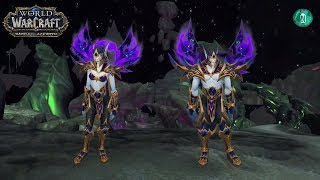 Allied Races Voice Over - Dialogue in patch 7.3.5   Void Elf,Lightforged,Nightborne,Highmountain