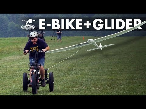 Launching a Glider with an E Bike