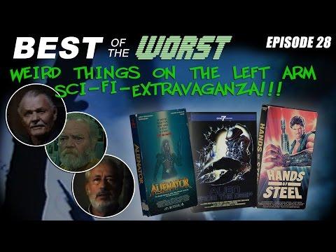 Best of the Worst Alienator Alien from the Deep and Hands of Steel