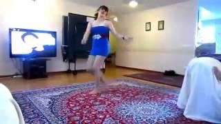 رقص دختر ایرانی  18   رقص منازل للكبار فقط   رقص معلايه   رقص بملابس قصرة