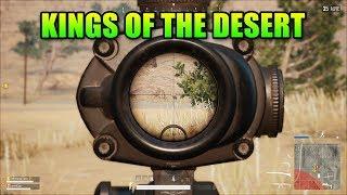 Kings Of The Desert! | PlayerUnknown's Battlegrounds Desert Map Duos